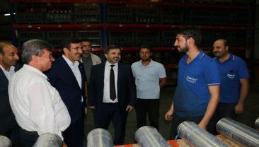 AK Parti Genel Başkan Yardımcısı Cevdet Yılmaz OSB'mizi ziyaret etti