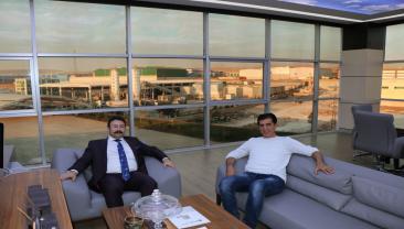 Bölge Müdürümüz Aksu'dan firmalara ziyaret