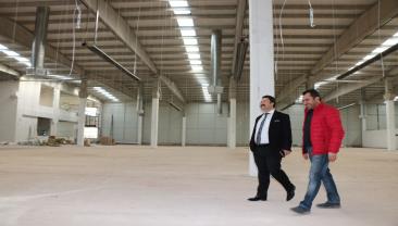 Açılacak olan MOSİ firmasına Bölge Müdürümüz Aksu'dan ziyaret