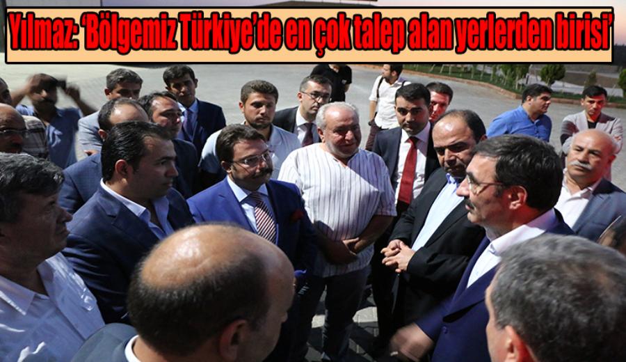 AK Parti Genel Başkan Yardımcısı Cevdet Yılmaz OSB