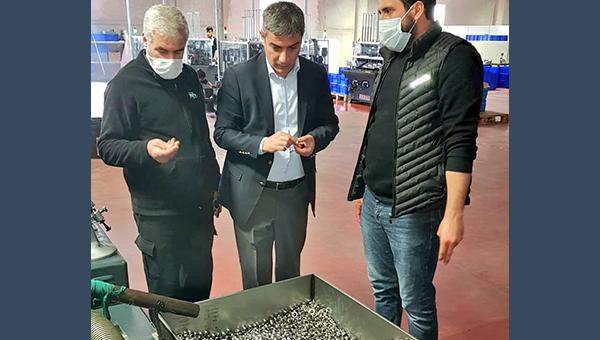 Bölge Müdürümüz RBE Fabrikasını Ziyaret etti