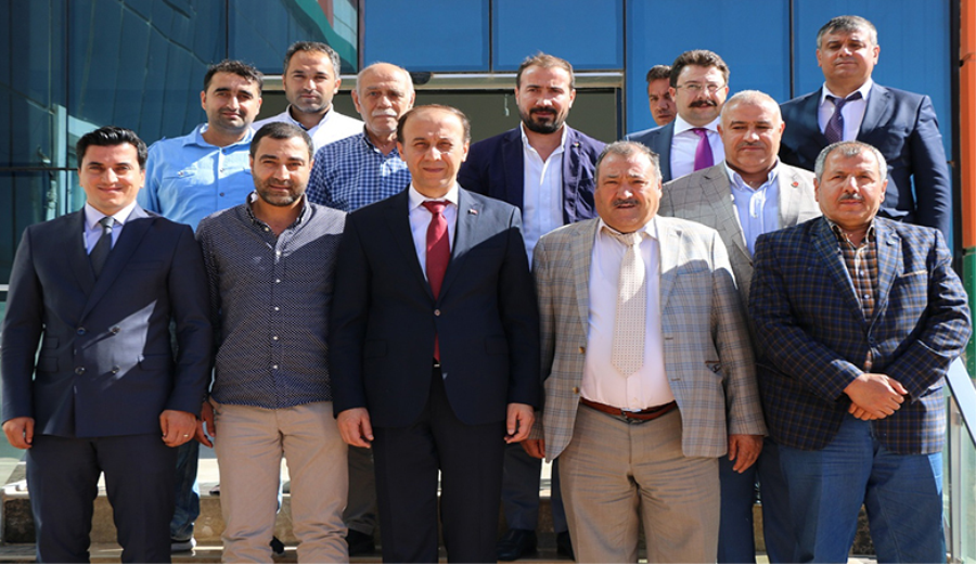 OSB Yönetim Kurulu toplantısı Anısüt firmasında gerçekleşti