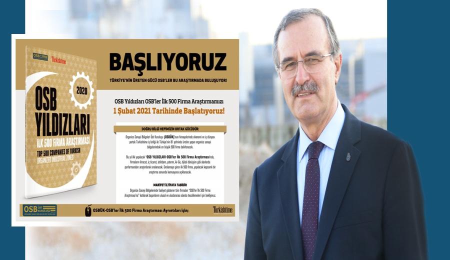 """OSB'LERİN """"YILDIZLARI"""" SEÇİLECEK"""