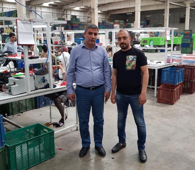 Osman OKTAY Prestij Oyuncak Firmasını Ziyaret Etti
