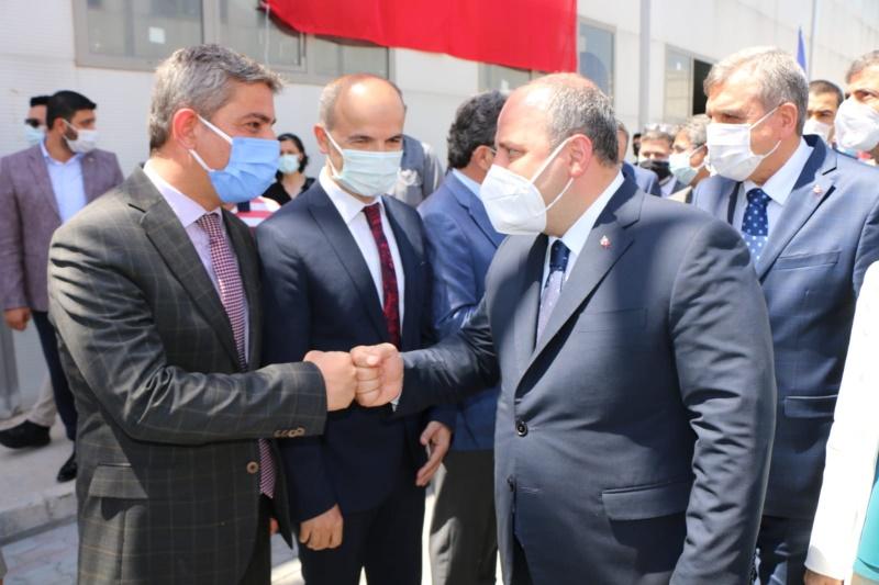 Sanayi ve Teknoloji Bakanımız Sn. Mustafa Varank'ı  OSB