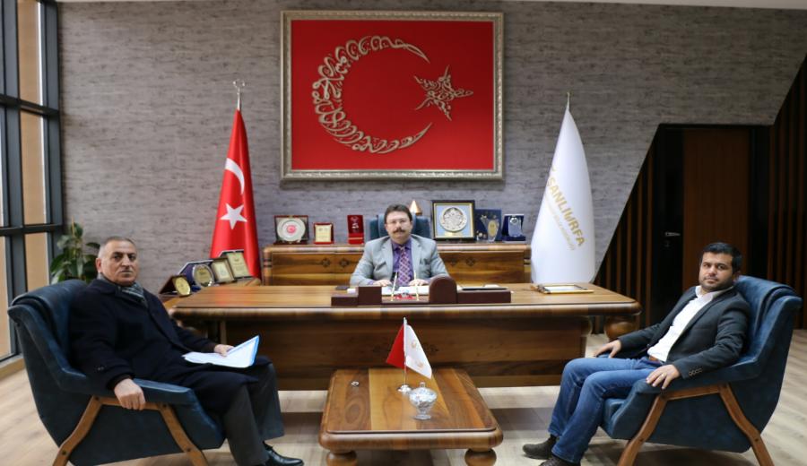 Türkmen İş Adamları OSB Müdürü Aksu'yu Ziyaret Etti
