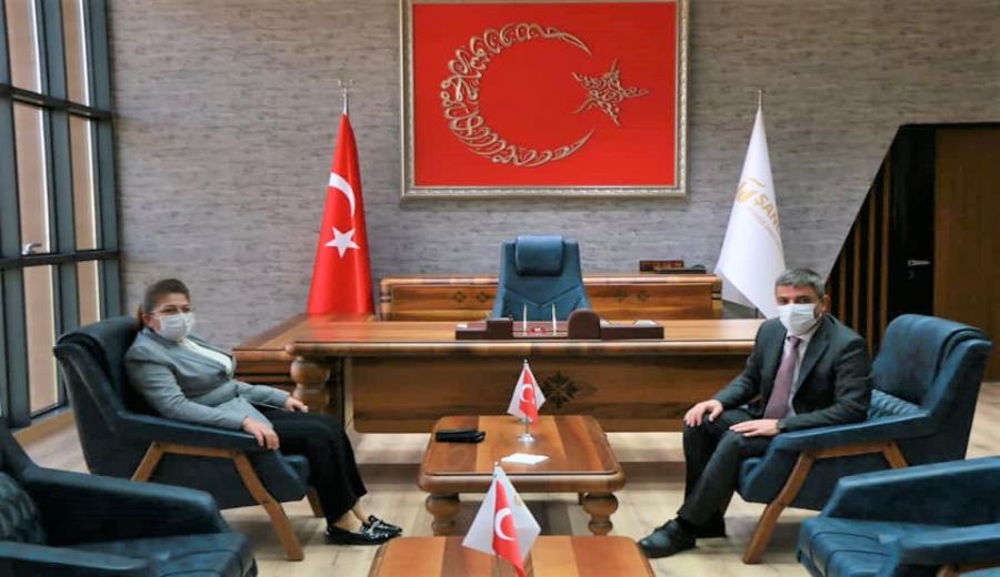 Vildan Polat, Şanlıurfa OSB'yi Ziyaret Etti