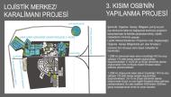 Lojistik Merkezi ve 3.Kısım Yapılanma Projesi