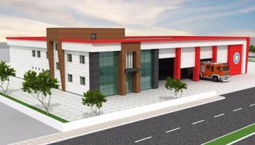 Yeni İtfaiye Bina Projemiz